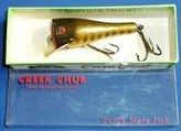 Vintage Creek Chub Pop-n-Dunk Glass Eye Lure w/Box