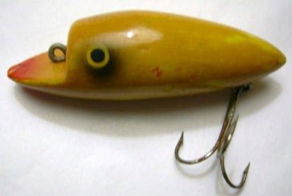 Vintage Moonlight Bait Company Little Wonder Fishing Lure
