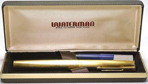Vintage New Old STock Waterman Gold Plated Super 6 18K Nib