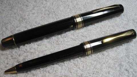 Vintage Omas Gentleman Fountain Pen/Pencil set