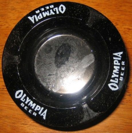 Old Olympia Beer Ashtray