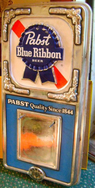Old Bar Calendar-Pabst Blue Ribbon Beer