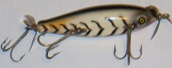 Vintage Pflueger Scoop Injured Minnow Lure