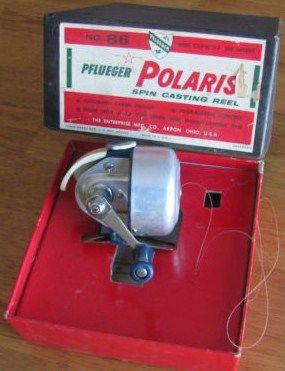 Vintage Pflueger Spin Casting Reel Polaris
