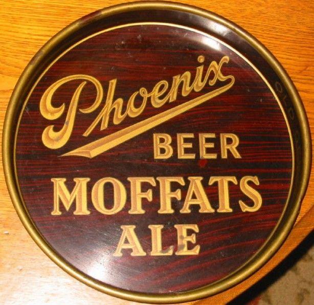 Vintage Phoenix Brewery Moffats Ale Beer Tray