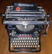 Vintage Remington 10 Typewriter