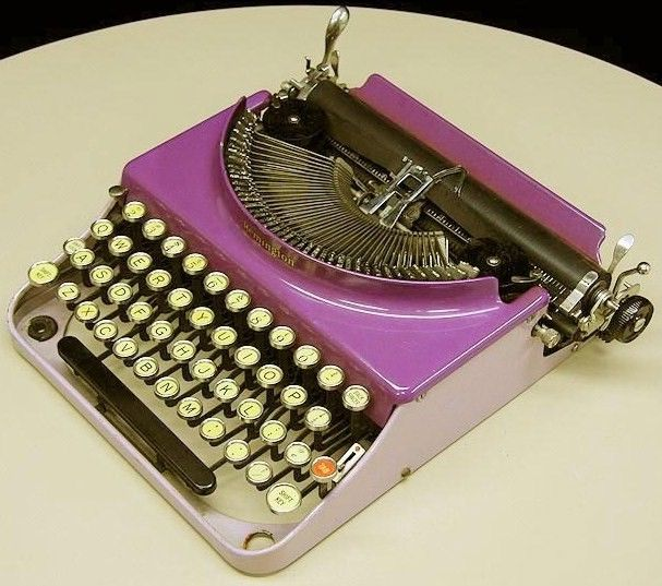 Vintage Remington Portable Model 3 Purple