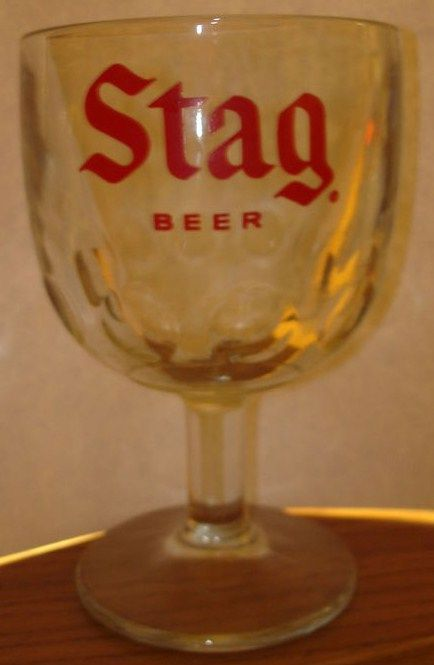 Vintage Stag Beer St Louis Boomba Style Glass
