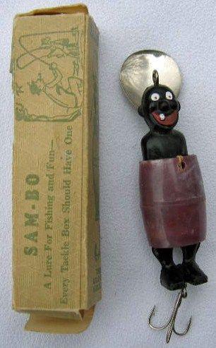 Vintage Sam-Bo Fishing Lure Original Box