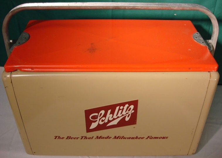 Vintage Schlitz Beer Cooler-Ice Chest