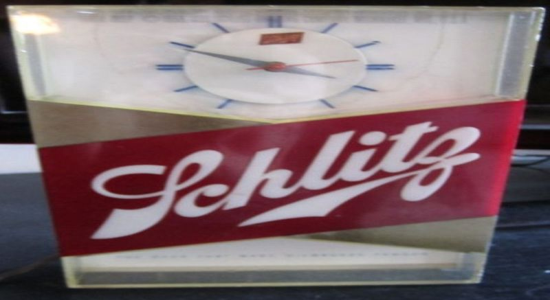 1959 Schlitz Light up Bar Clock