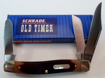 Vintage Schrade Old Timer Senior 80T/3-blade pocket knife
