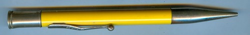 vintage sheaffer Craig Pencil Mandarin Yellow