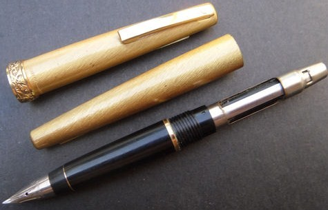 Vintage Sheaffer Imperial Lady Brushed Fountain Pen