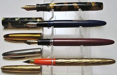 Vintage Sheaffer Pen Lot of 4/Parts-Repair-Service