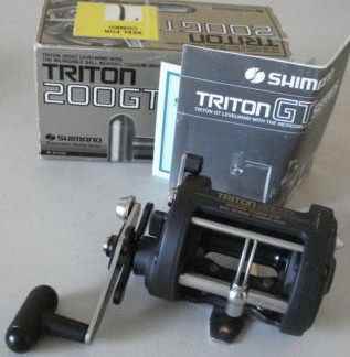 Vintage Shimano Triton 200 GT Level Wind Fishing Reel