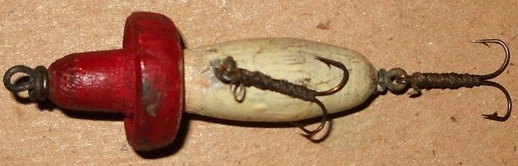 Vintage South Bend Flyrod Wood Pecker Fishing Lure