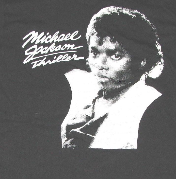 Vintage Thriller T-Shirt Black & White