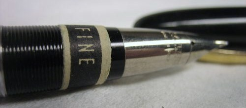 Vintage W.A. Sheaffer Pen Co. Black/Gold Statesman White Dot