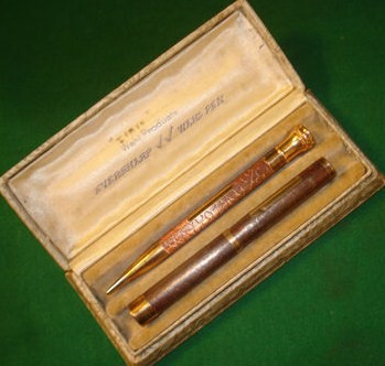 Vintage Wahl Eversharp Fountain Pen 14K Nib/Pencil Gold Fill