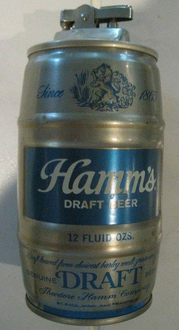 Vintage Hamms Beer Can Cigarette Lighter
