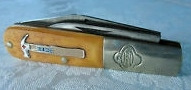 Vintage John Primble Barlow Hammer Shield Pocket Knife