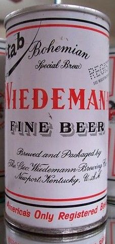 Wiedemann Pull Tab Can