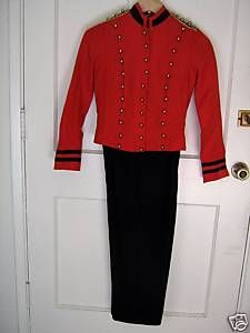 Michael jackson red Beat It Costume for Women