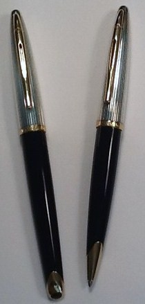 Waterman Carene Deluxe Rollerball &amp; Ballpoint Pen Set