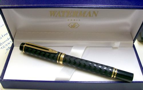 Waterman LeMan 100 Opera 18K Fountain Pen M Nib NOS