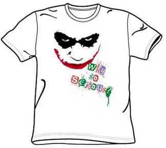 Why So Serious Joker Shirt