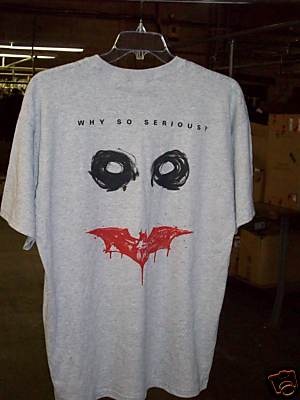 Why So Serious Shirt White