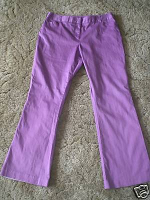 Women's Joker Purple Pants Size 18