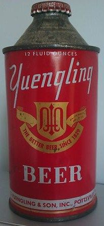 Yuengling Beer Cone Top Can