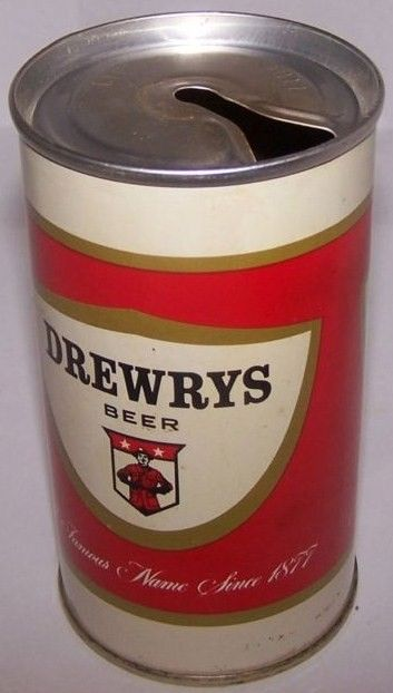 Zip Top Beer Can Drewrys