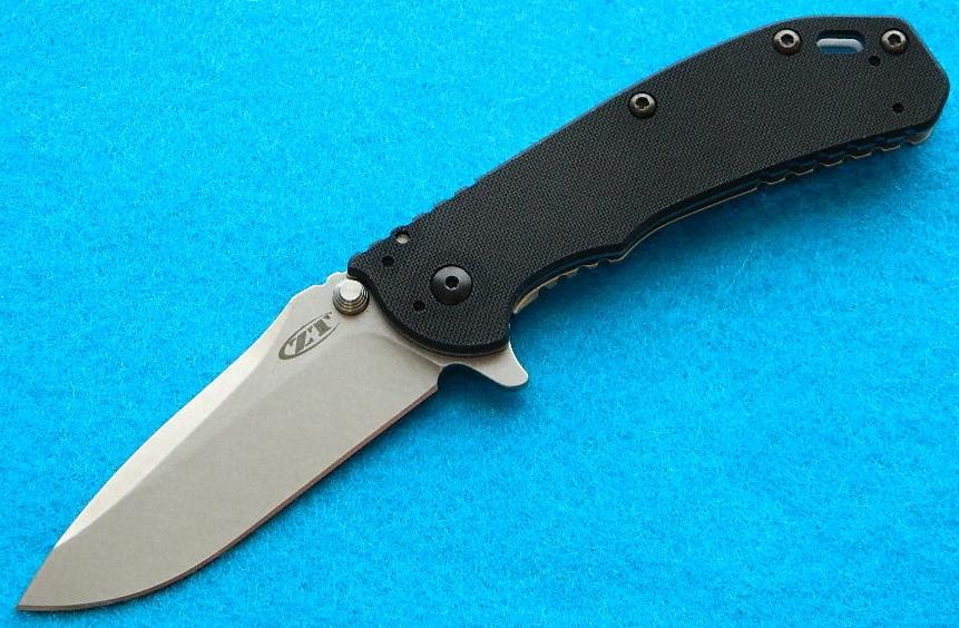 Zero Tolerance 0566 Framelock Folding Knife/Front View