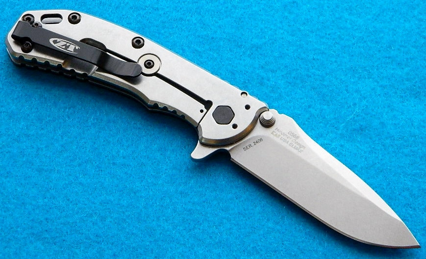 Zero Tolerance 0566 Framelock Folding Knife/Flipper Design