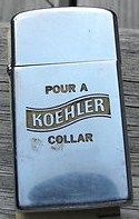 Zippo Lighter Koehler Beer Erie PA