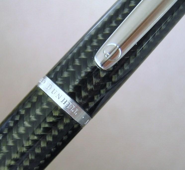 Dunhill Pen AD2000 Carbon Fibre Ballpoint
