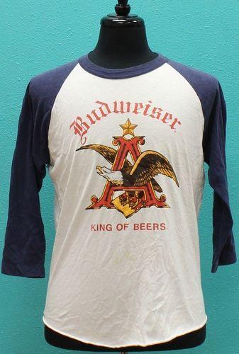 Vintage Budweiser 1980s soft Jersey T Shirt