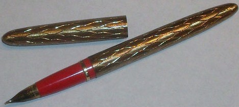 Vintage Lady Sheaffer Cartridge Fountain Pen 14K Gold Point