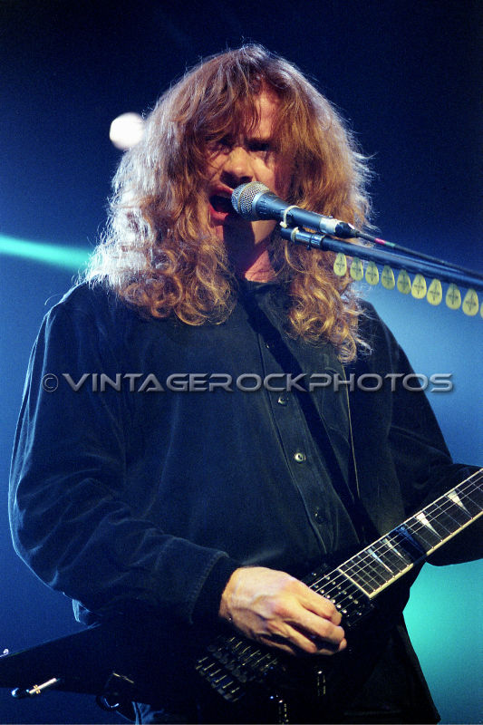 dave mustaine megadeth 20x30 inch poster size photo pro