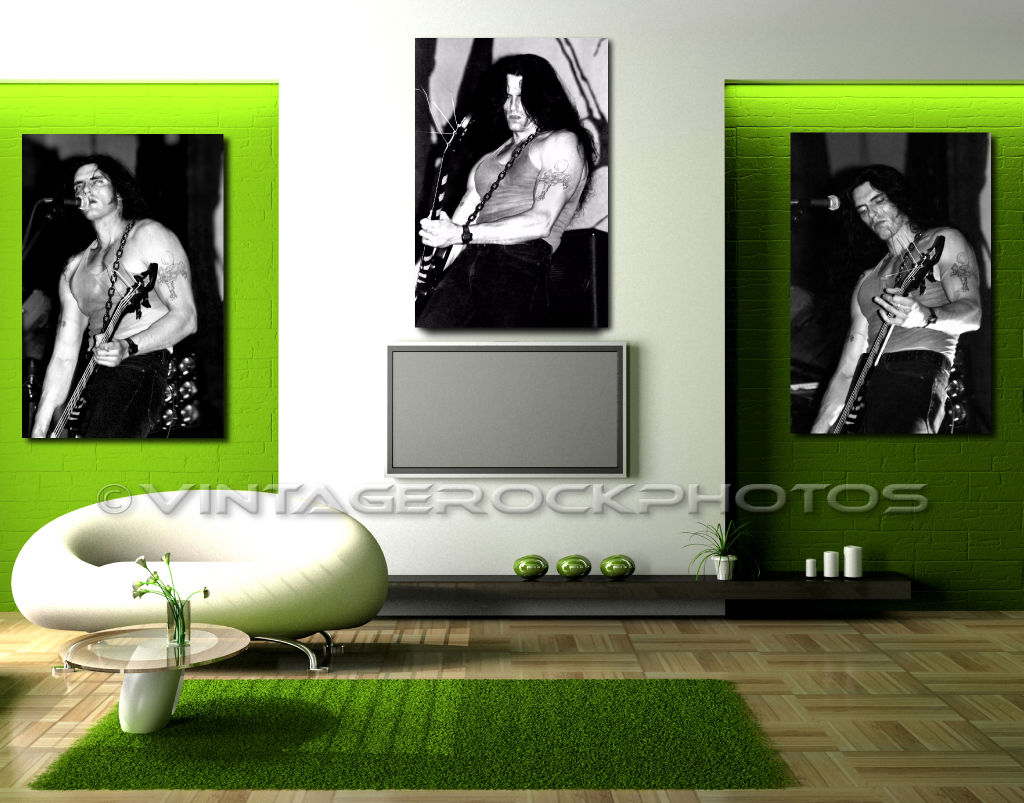 Peter Steele Type O Negative 20x30 Gallery Canvas Framed Prints Trio Set of 3