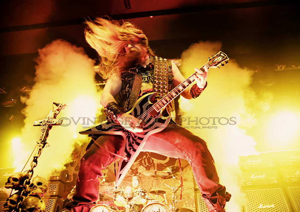 zakk wylde black label society photo 8x12 or 8x10