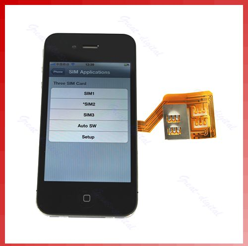 how to use 4g sim in iphone 4