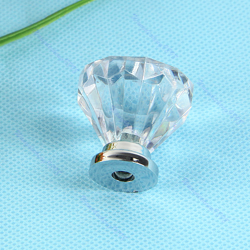 Swarovski crystal drawer pulls 5pcs jet black crystal for Best brand of paint for kitchen cabinets with hanging crystal candle holder
