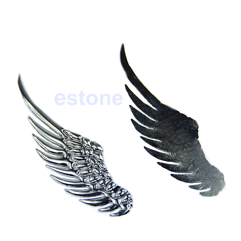 Honda car sticker design - Alloy Angel Hawk Wings Design Car Emblem Badge Decal Logo Car Pictures