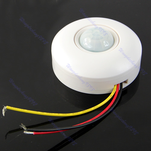 Outdoor Motion Light Will Not Turn Off: Motion Sensor Lamp Infrared IR Ceiling Wall Automatic