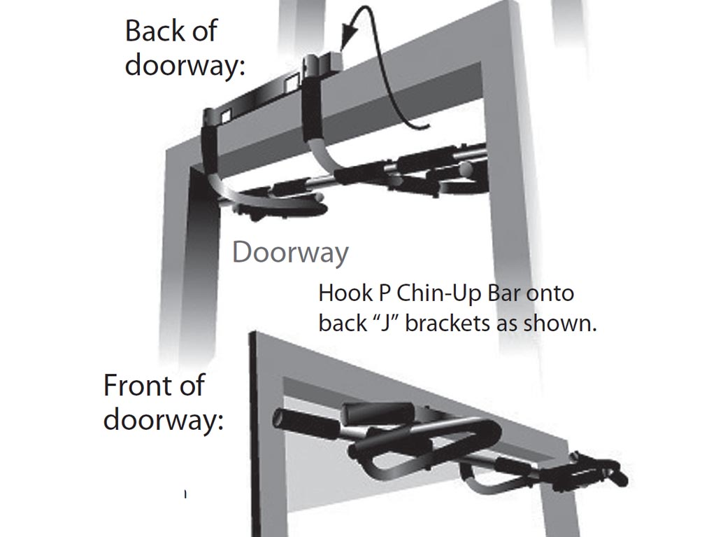 how to build home chin up bar