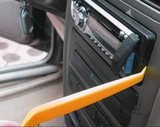 1 set plastic car radio door clip panel trim dash audio removal pry tool kit ebay. Black Bedroom Furniture Sets. Home Design Ideas